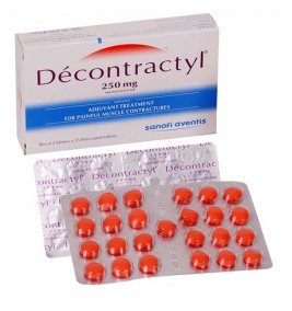 DECONTRACTYL 250MG