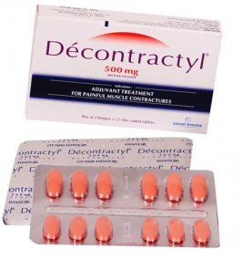 DECONTRACTYL 500MG