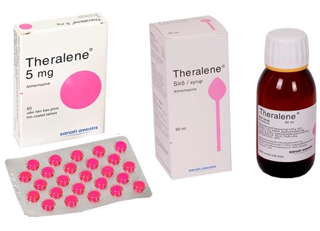 THERALENE 5MG VIÊN